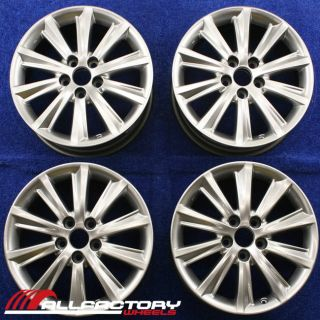 "Lexus ES350 17"" 2009 2010 2011 2012 Factory Wheels Rims Set 74225"