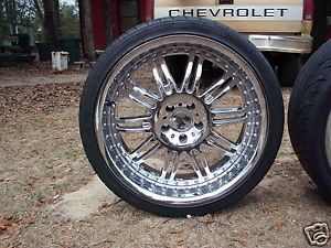 "KMC Dime Chrome Wheel 5 114 3 Lug Pattern 20""x8 5"""