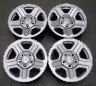 "9072 Jeep Wrangler 16"" Factory Steel Wheels Rims"