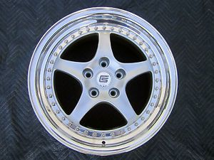 "Set of 4 New Shelby Series 1 18"" 3 Piece Wheels Rims Staggered 18x10 18x12 5x120"
