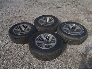 1986 Pontiac Firebird Set of 4 Factory 15x7 Wheels w O Tires for Recondition