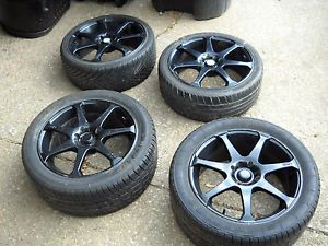 Motegi Racing Set 4 MR7 Rims 17 inch Tires with Lugs Tool Local Pickup Only