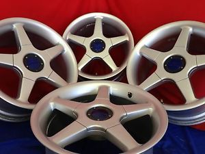 "17"" oz O Z Racing Monte Carlo Wheels Rims Work Honda 5x120 BMW Camaro GTO"