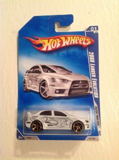Hot Wheels Mitsubishi Lancer Evolution Diecast Car