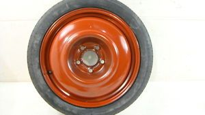 "99 00 01 Saab 9 5 Spare Wheel Tire Donut 16"" 16x4 Rim Steel"