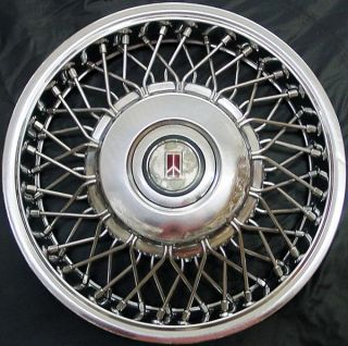 "'86 88 Oldsmobile Calais Firenza 13"" 4102 Wire Hubcap Wheel Cover 22534706"