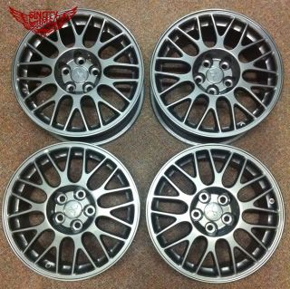 X4 Factory 17x8 Mitsubishi Lancer EVO Rims Wheels Race