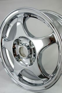 "Chrome 15"" Mitsubishi Lancer ralliart Wheels 65778"