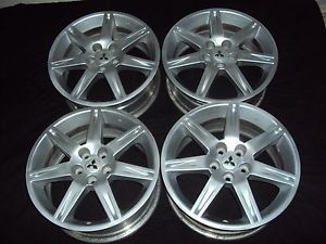 "Set 4 18 "" Mitsubishi Eclipse galant Wheels Rims 65810 One w Slight Dent"