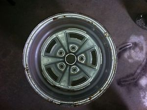 Pontiac GTO Firebird Trans Am 15x10 Rally II 2 Rim Wheel Custom RARE 4 3 4 GM