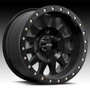 17 inch 17x8 5 Method Race Double Standard Black Wheels Rims 6x5 5 Tundra Tacoma