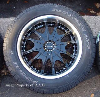 "20"" 1997 03 Ford F150 Lincoln Navigator Wheels Tires"