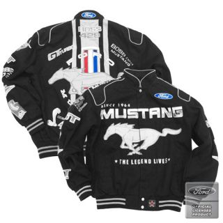 Ford Mustang Racing Style Twill Jacket