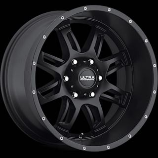 20x9 Black Ultra Gunner 241 Wheels 5x150 30 Toyota Land Cruiser Sequoia