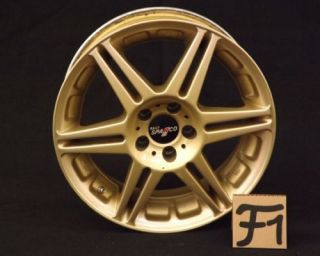 Sparco Rally 16's JDM Wheels Gold 5x100 RARE Wheel Authentic Discontinued Suby