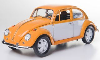 Greenlight 1967 Volkswagen Beetle Retro Scheme Diecast Model Car 1 18 12838