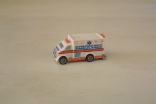 Ambulance Micro Size Hot Wheels Micro Loose Vehicle Toy
