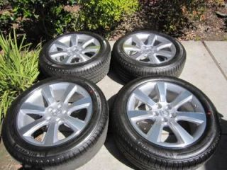 "19"" Genuine Acura MDX Wheel w Michelin Tires TPMS 2007 2008 to 2012 MDX"