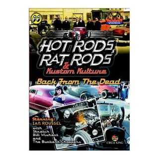 Hot Rods Rat Rods DVD Rockabilly Cars Kustom Back from The Dead Ian Roussel New 011929310002