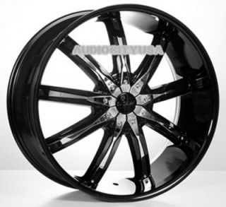 "24"" inch VC29 BK Wheels and Tires Rims for 300C Charger Magnum Challenger"