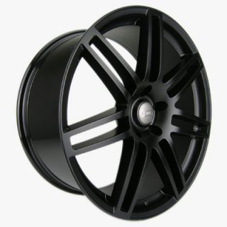 "20"" Audi Wheels A6 RS4 A2 A3 RS6 A5 A8 A4 20x9 Black Matte Rims"