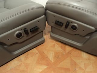 00 06 Chevy Tahoe Silverado Yukon Suburban Heated Leather Truck Seats