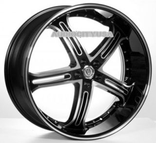 "22"" inch VT226 BM Wheels Rims for 300C Charger Magnum Challenger"