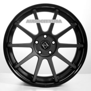 "22"" Giovanna Lindos RL Black Wheels and Tires Rims for 300C Charger Magnum"