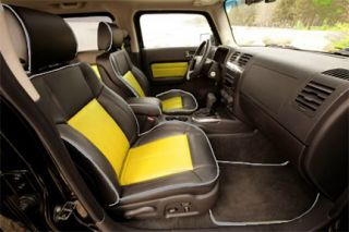 Hummer H3 Genuine Leather Interior Kit Seat Covers
