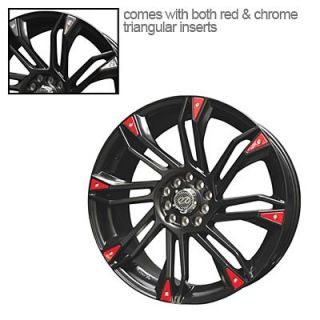 "Enkei GW8 Black Wheel 17""x7"" 5x100mm"
