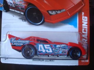 Hot Wheels New for 2013 HW Racing Series Red Maximum Leeway Funny Car 125
