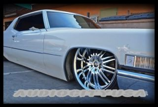 "22"" inch D1 CR Wheels and Tires Rims for 300C Charger Magnum Challenger"