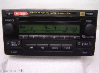 04 05 06 07 Toyota Matrix JBL Radio Stereo 6 Disc Changer CD Player A51818