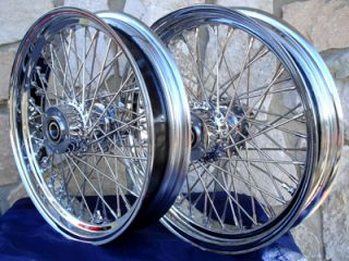 "19x2 5"" 40 Spoke Front Wheel for Harley Dyna Sportster FXR Narrow Glide"