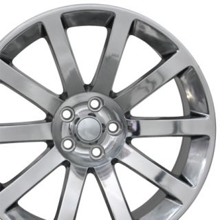 "20"" Polished CL 300 SRT Wheels 20x9 Set of 4 Rims Fits Chrysler"