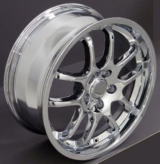 "18"" Chrome Rims Fit Infiniti G35 Sedan Nissan 350Z Rims Fit Infiniti"
