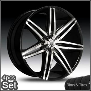 24inch Lexani Johnson Wheels and Tires Pkg for Land Range Rover Rims