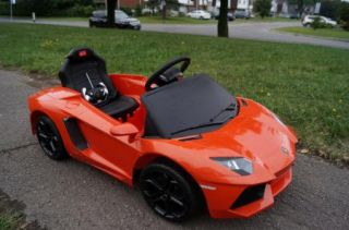 Lamborghini Aventador 2013 New Electric Power Wheels Ride on Car