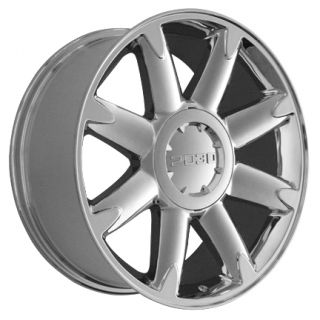 "20"" Rims Fit GMC Denali Wheels Chrome 20x8 5 Set"