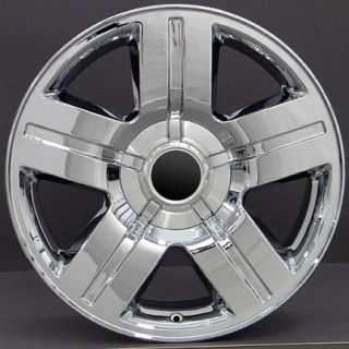 "20"" Texas Wheels Chrome 20x8 5 Rims Fit Chevrolet GMC Cadillac"