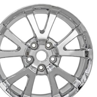 "17"" Pontiac Torrent Chrome Wheels 5275 Rims Fit Chevrolet Equinox"