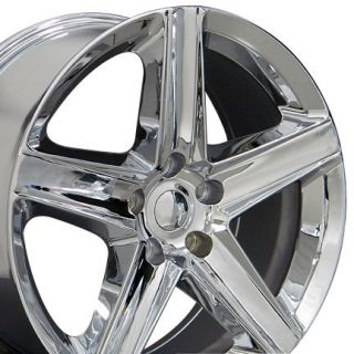 "20"" Grand Cherokee Wheels Chrome 20x9 Rim Fits Jeep"