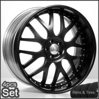 22 AC Forged Wheels and Tires Pkg for Lexus Altima Impala Honda Infiniti Rims