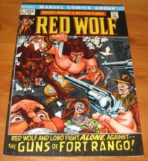 Red Wolf 1 1972 Nice High Grade Comic