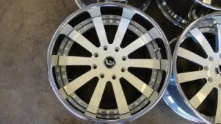 "22"" Forgiato Concavo Custom Painted GM Hummer H2 Wheels Rims 22x10"