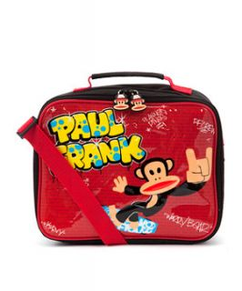 Paul Frank Red Monkey Messenger Lunch Box