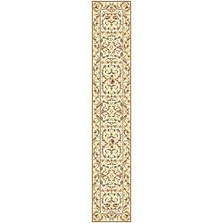 Lyndhurst Collection Traditional Ivory/ Ivory Runner (2'3 x 22') Safavieh Runner Rugs