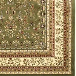 Lyndhurst Collection Sage/Ivory Oriental Rug (9' x 12') Safavieh 7x9   10x14 Rugs