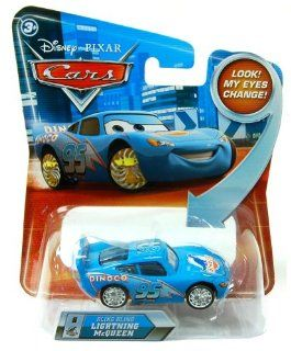 Disney Cars Lightning McQueen Bling Bling P7009 Cruisin Look my eyes can change #8 Spielzeug