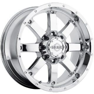 Gear Alloy Big Block 20 Chrome Wheel / Rim 5x5 & 5x5.5 with a 0mm Offset and a 78 Hub Bore. Partnumber 726C 2090900 Automotive